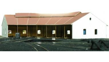 Depósito de locomotoras de Puente Genil