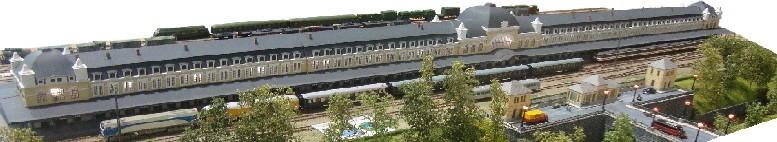 Estación de Canfranc (escala N)