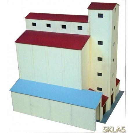 H0 - silo de cereales época III SENPA