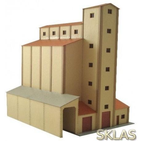 N - silo de cereales época III SENPA
